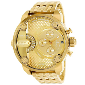 DIESEL | All Gold Little Daddy Men's Chronograph Watch | DZ7287
