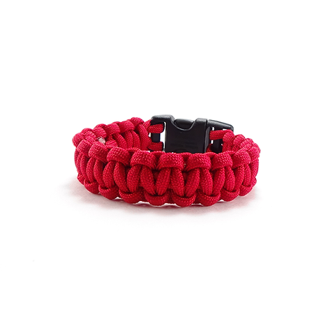 Cobra Stitch Survival Bracelet R.E.D
