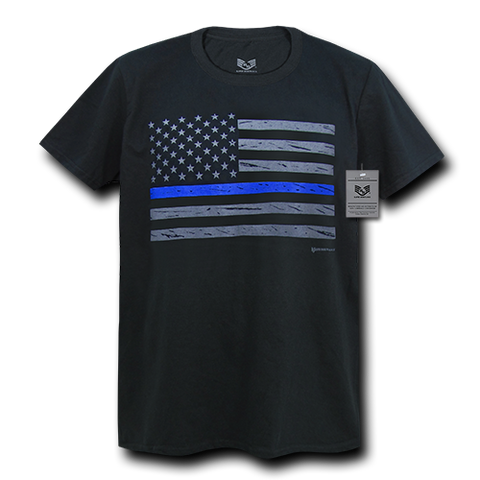 Rapid Dominance Thin Blue Line Collecton Graphic Tees