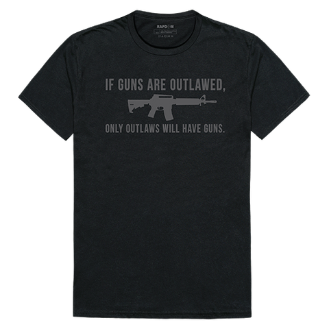 Rapid Dominance Graphic Tees If Guns are Outlawed