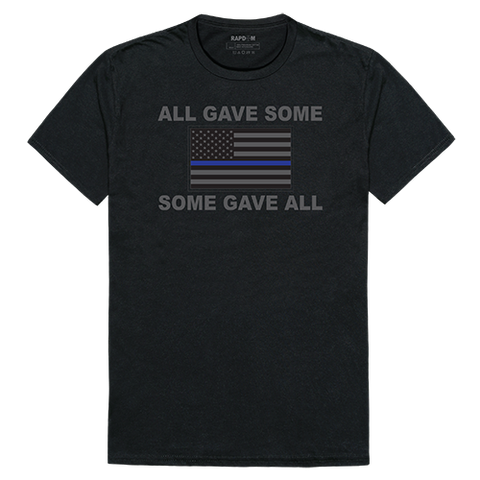 Rapid Dominance Thin Blue Line Collecton Graphic Tees All Gave Some Some Gave All