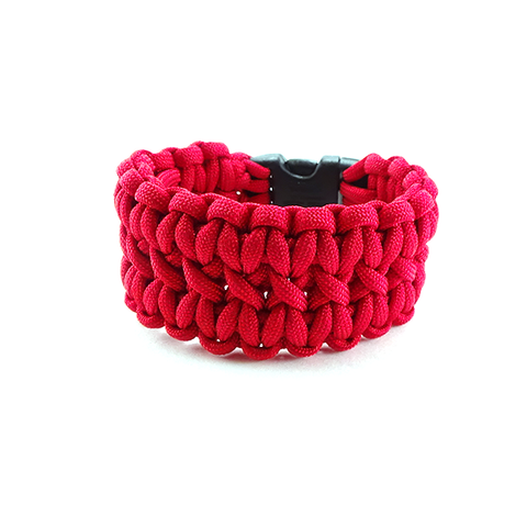 Triple Stitch Survival Bracelet R.E.D