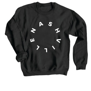 NASHVILLE CREWNECK | BLACK