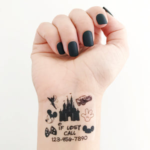MICKEY EMERGENCY TATTOOS