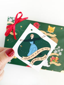 SOUND OF MUSIC GIFT TAGS | 4
