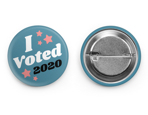 I VOTED | BUTTON
