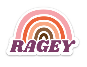 RAGEY STICKER