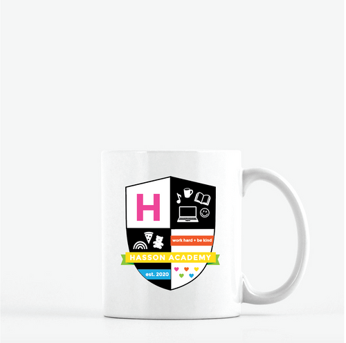 CUSTOM CREST MUG / TUMBLER / WALL DECAL