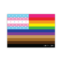 INCLUSIVE FLAG STICKER