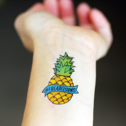 PINEAPPLE HASHTAG
