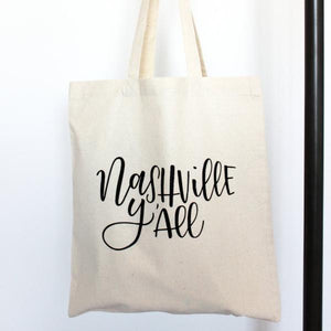 NASHVILLE Y'ALL TOTE