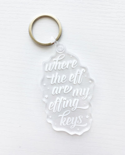 WHERE THE EFF | KEYCHAIN