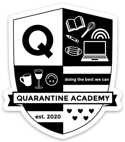 QUARANTINE ACADEMY STICKER