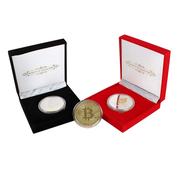 Red Commemorative Coin Gift Box