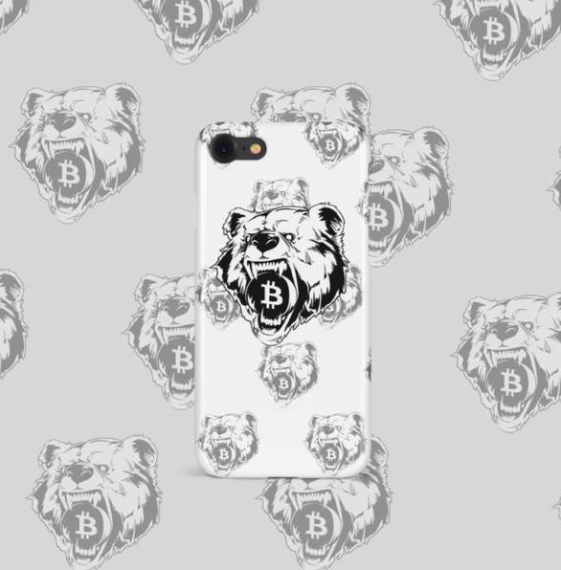 iPhone 7 Plus, 7s Plus, 8 Plus Grizzly Bear Phone Case