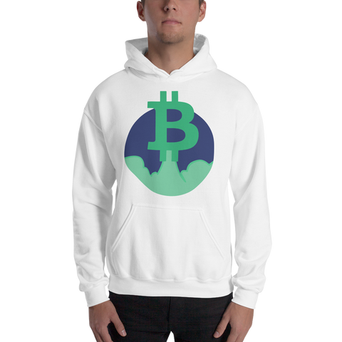 Rocket Bitcoin Hooded Sweatshirt