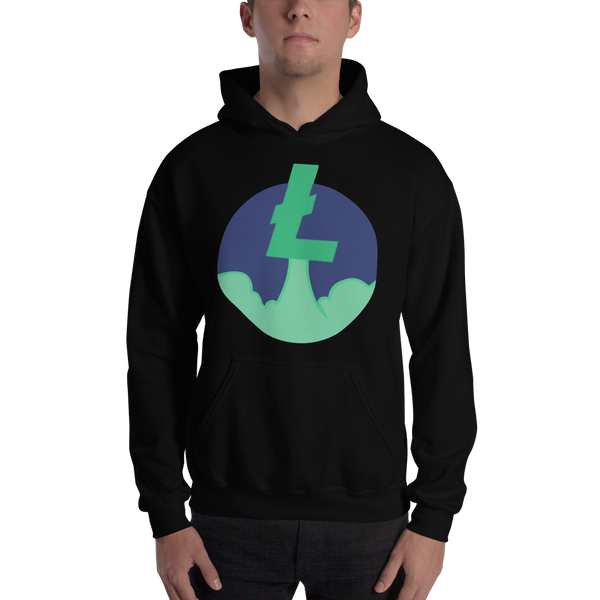 Rocket Litecoin Hooded Sweatshirt