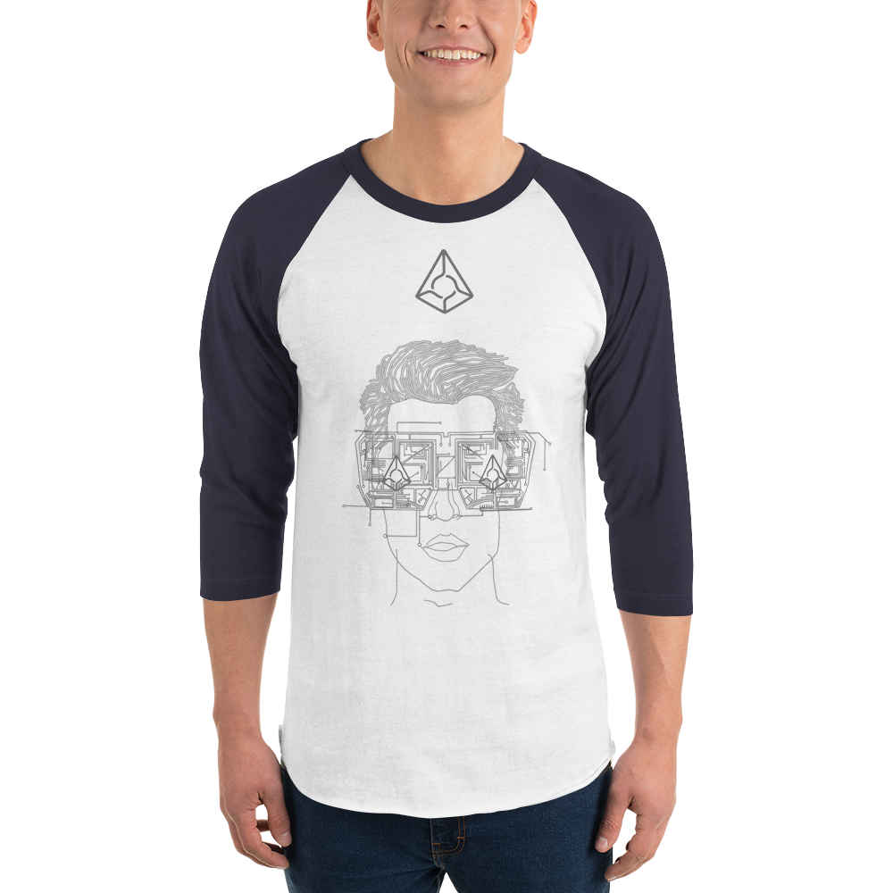 Augur Dude 3/4 Sleeve Raglan Shirt