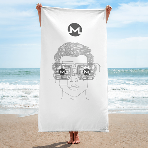 Monero Dude - Monero Towel