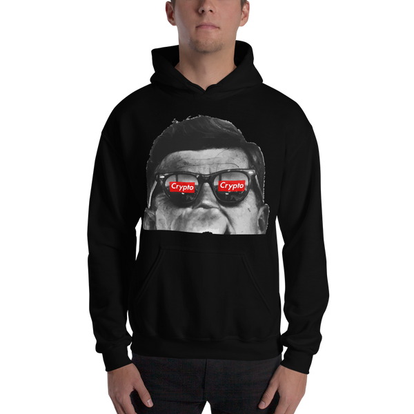 J.F.K Crypto Hooded Sweatshirt