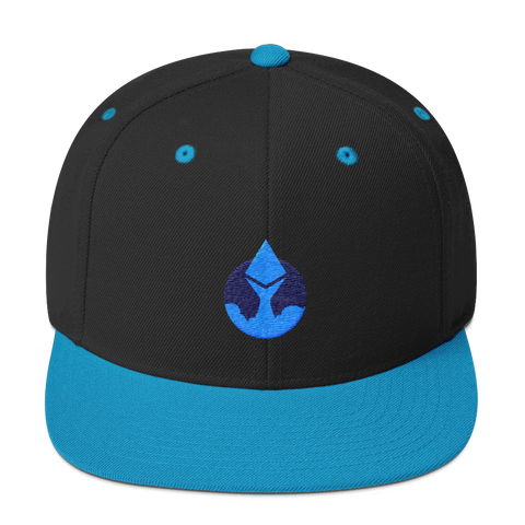 Rocket Ethereum Snapback Hat