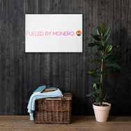 Fueled By Monero Canvas