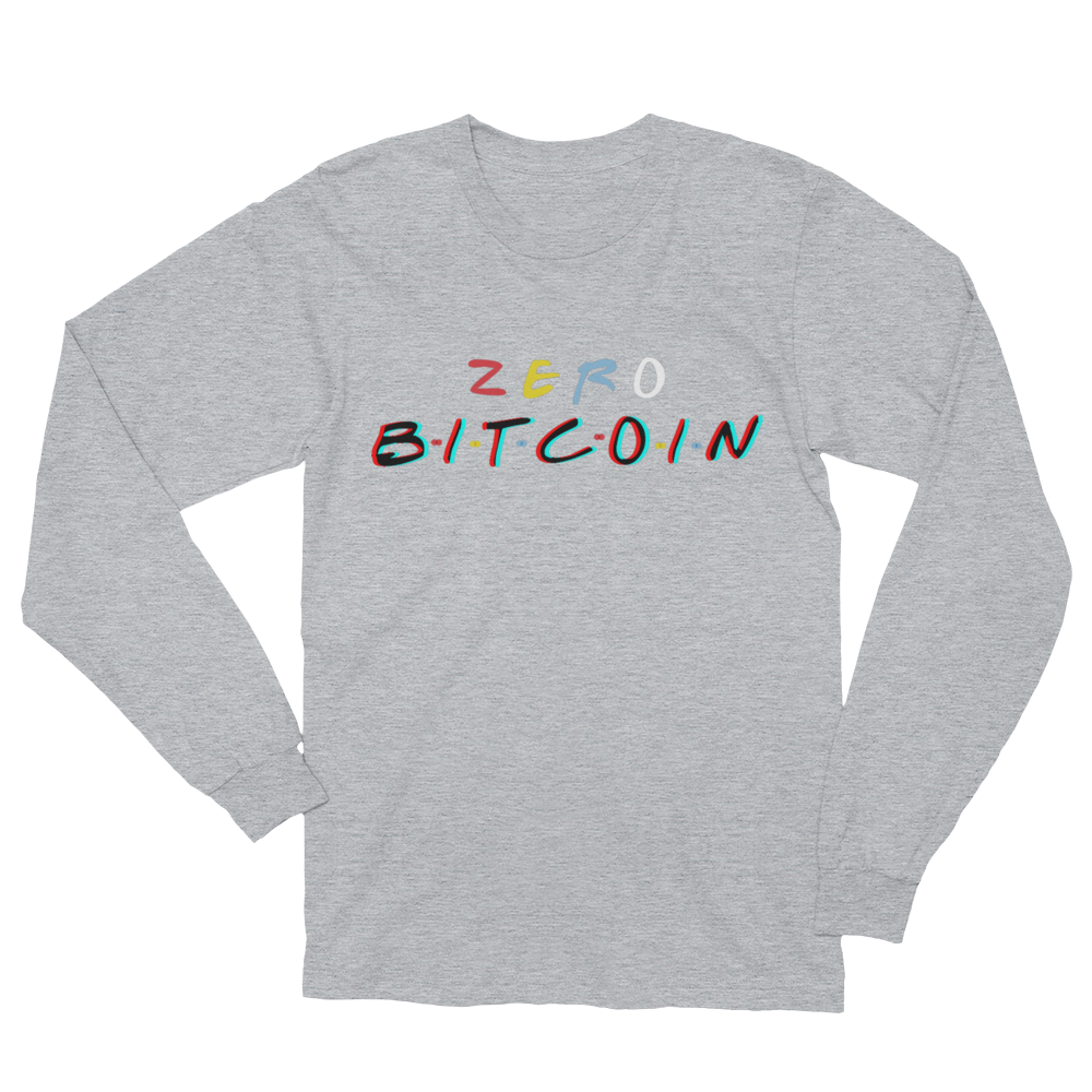 3D Zero Bitcoin Women's Long Sleeve T-Shirt
