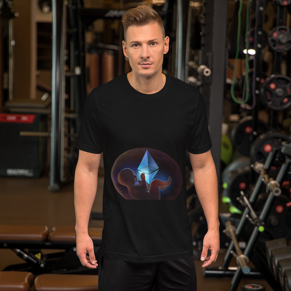 Ethereum Space Baby Short-Sleeve T-Shirt
