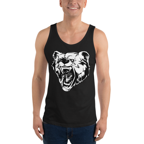 Inky Factom Grizzly Bear Tank Top