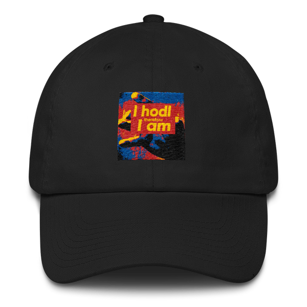 I Hodl therefore Iam Dad Hat - Chill Blue Edition