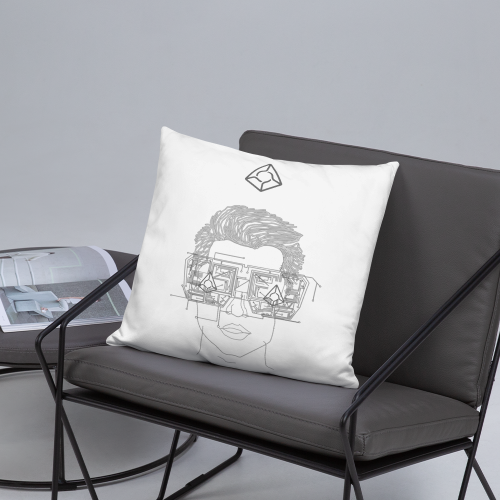 Augur Dude - Augur Throw Pillow