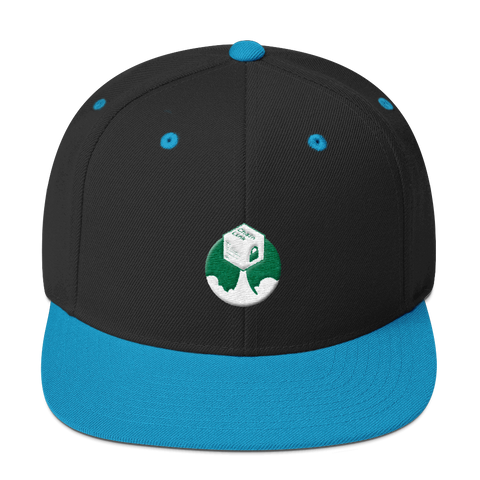 Rocket Chainlink Snapback Hat