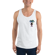 3D Ethereum Palm Tree Tank Top