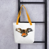 Bald Eagle Monero Tote Bag