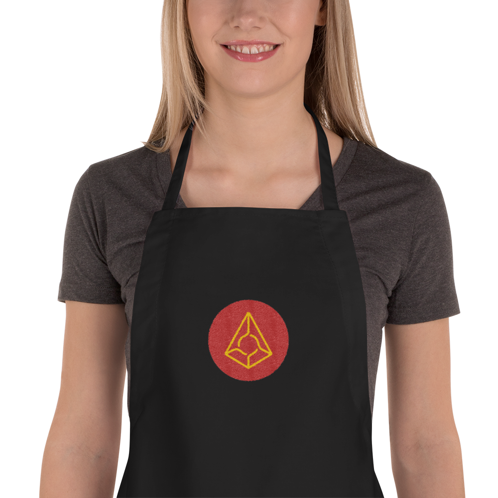 Augur Embroidered Apron
