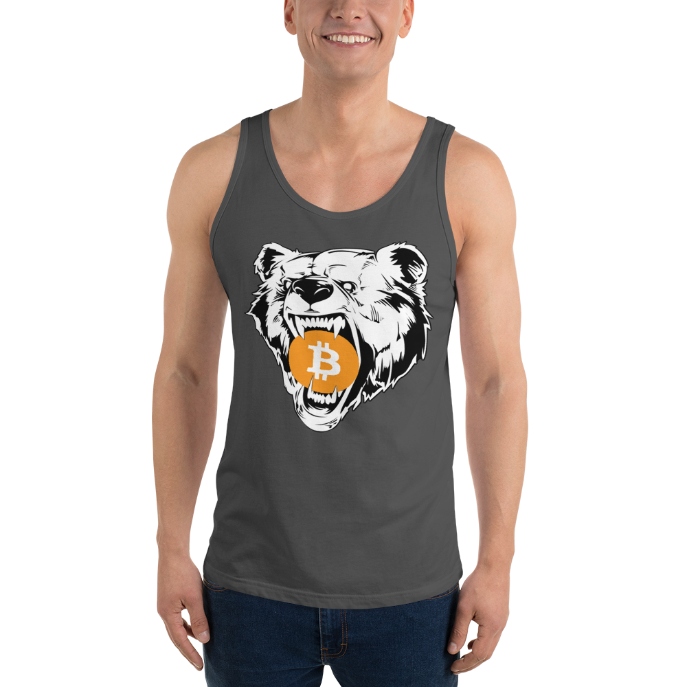 Bitcoin Grizzly Bear Tank Top
