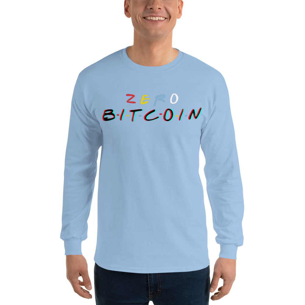 3D Zero Bitcoin Long Sleeve T-Shirt