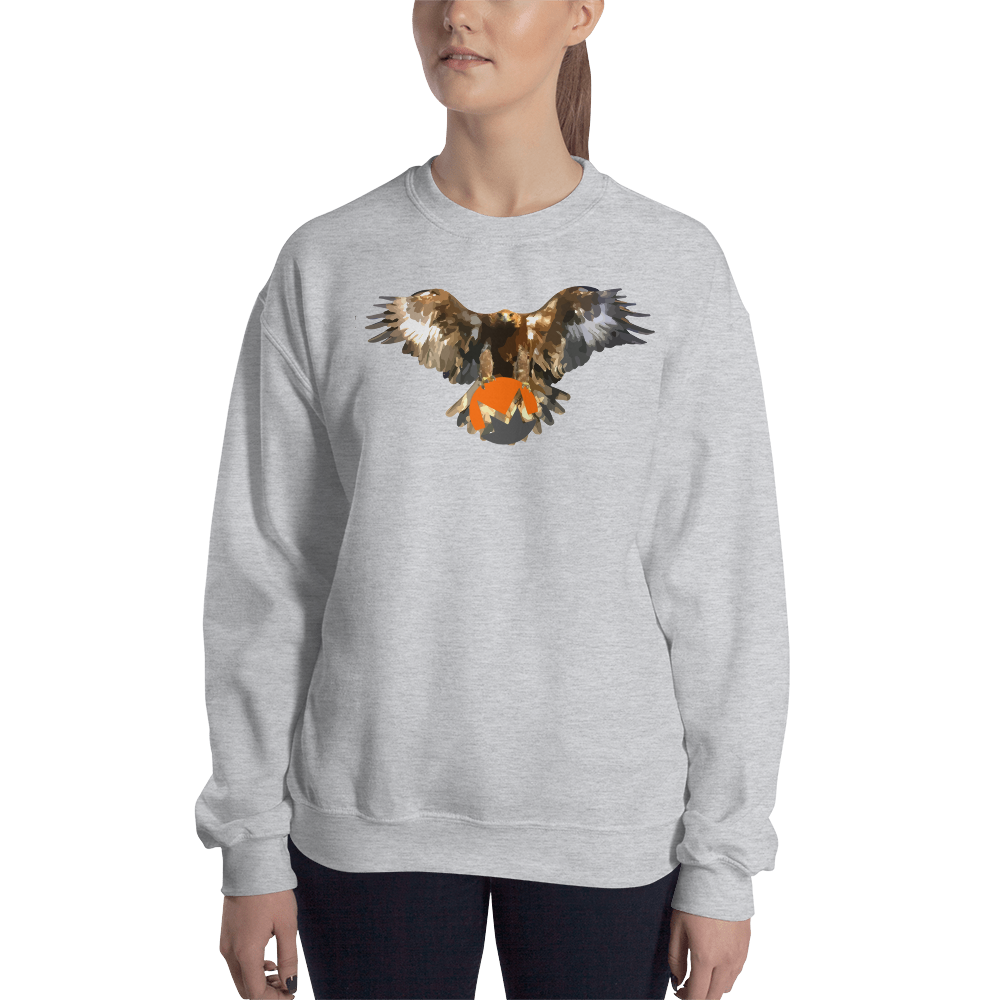 Bald Eagle Monero Women's Sweatshirt