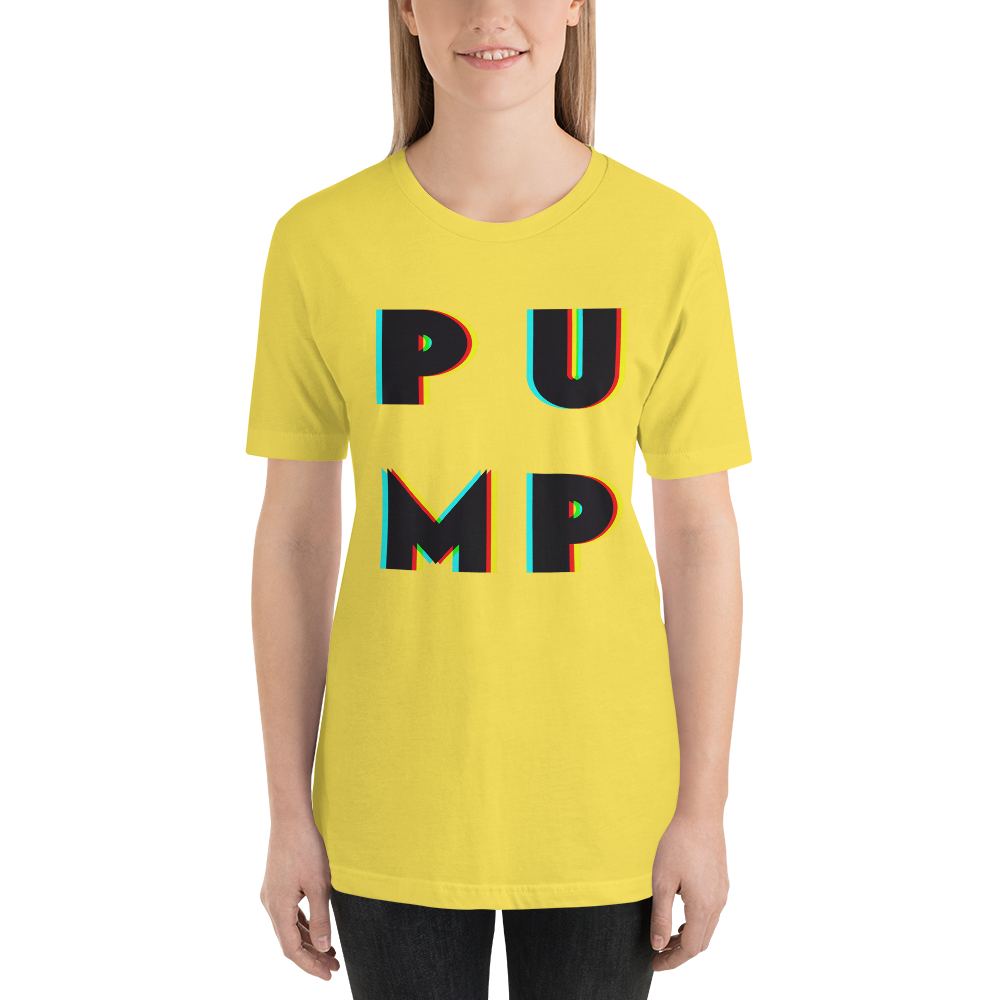 3D PUMP Short-Sleeve Women's T-Shirt