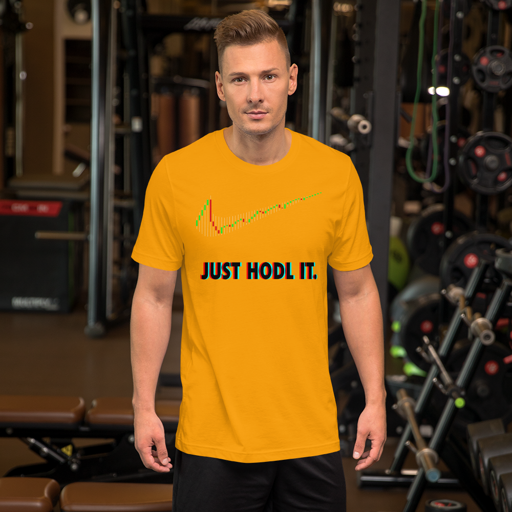 3D Just Hodl It Short-Sleeve T-Shirt