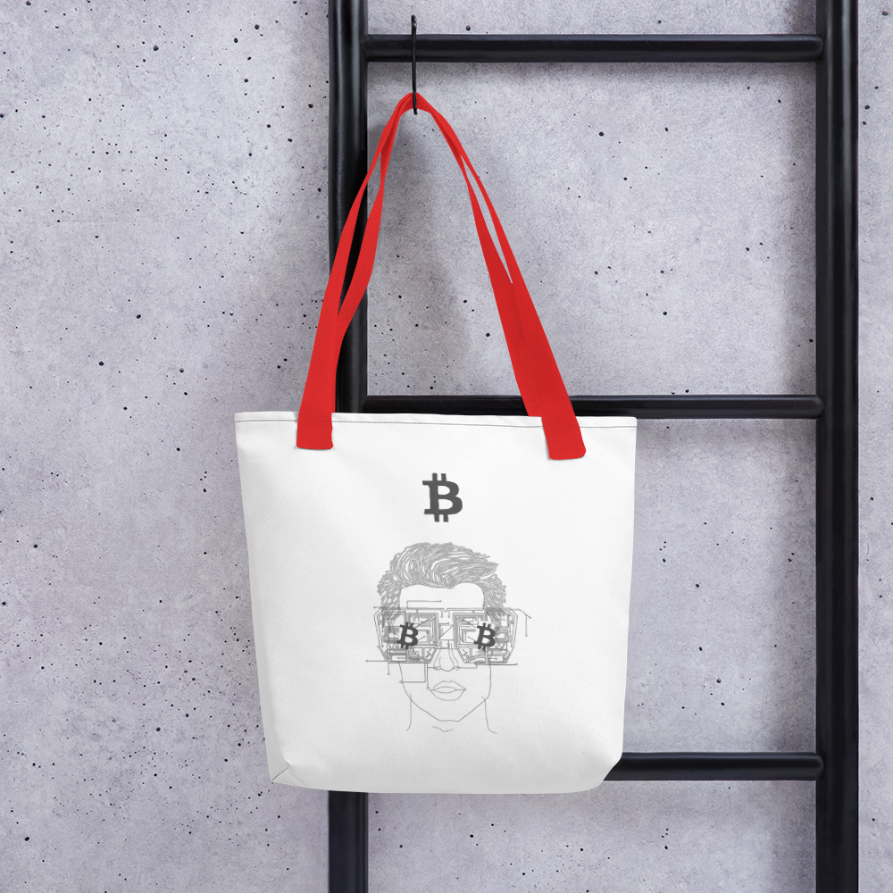 Bitcoin Dude Tote Bag
