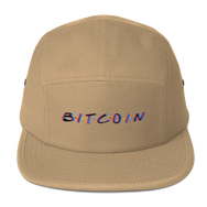 3D Bitcoin Five Panel Cap