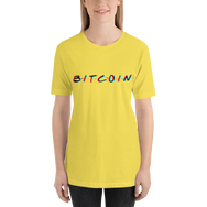 3D Bitcoin Short-Sleeve Women's T-Shirt