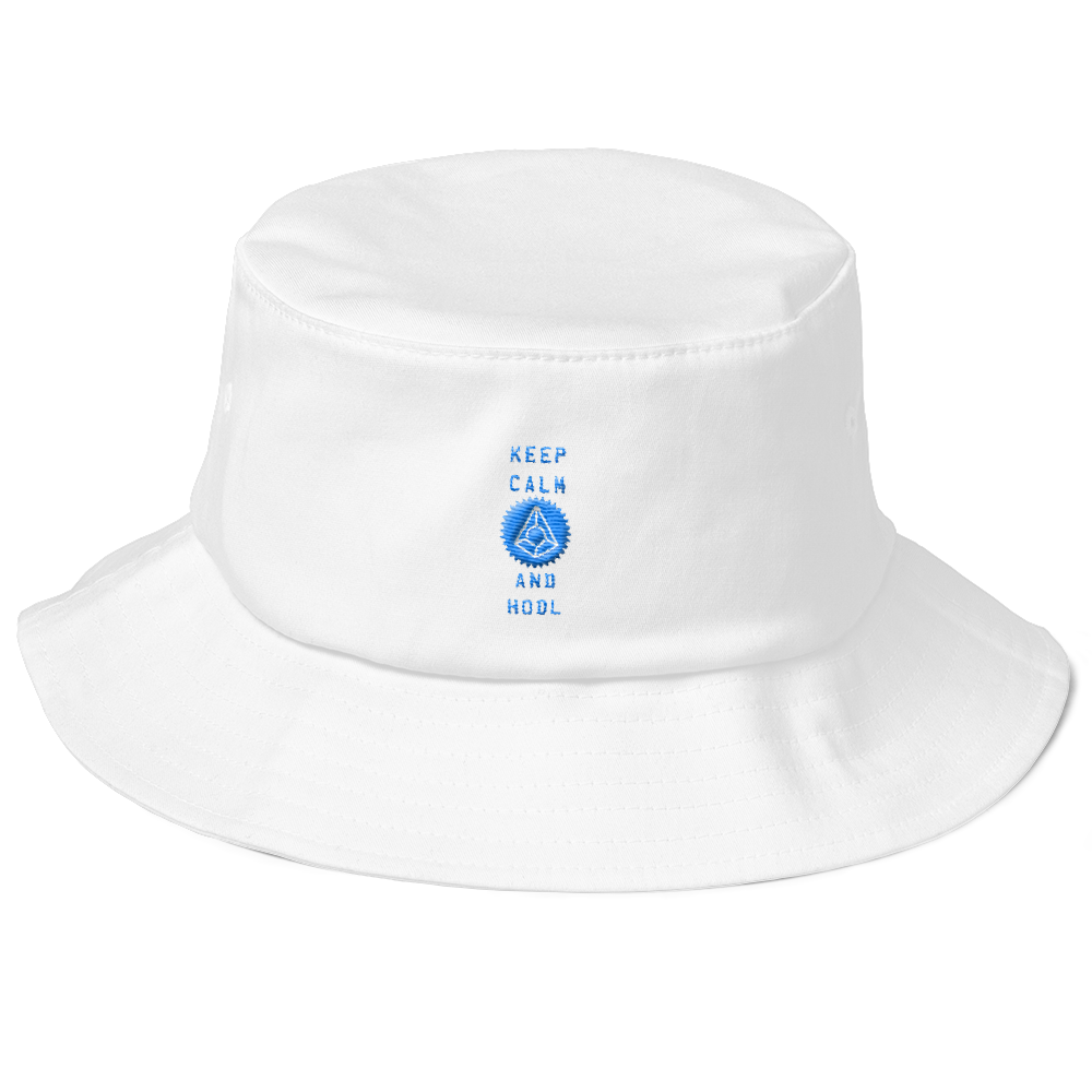 459c49d65ac Keep Calm And Hodl Augur Old School Bucket Hat ...