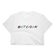3D Bitcoin Women's Crop Top