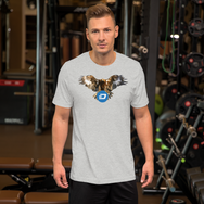 Dashcoin Bald Eagle Short-Sleeve T-Shirt
