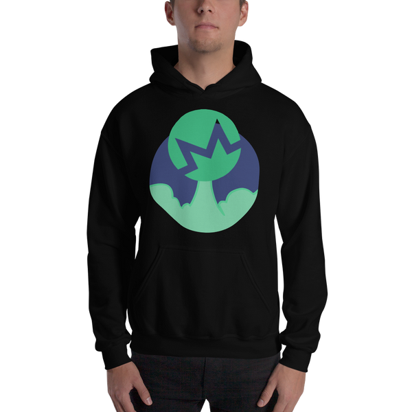 Rocket Monero Hooded Sweatshirt