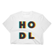3D HODL Women's Crop Top