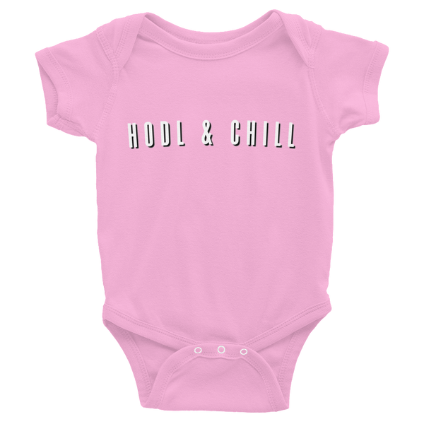 Hodl And Chill Infant Bodysuit