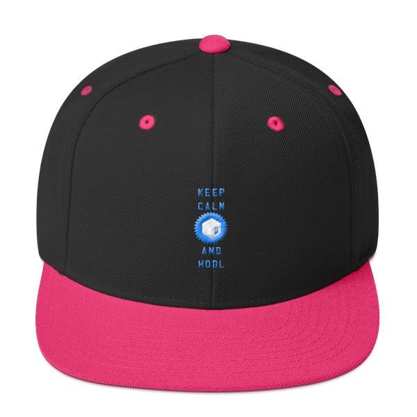 Keep Calm And Hodl Chainlink Snapback Hat